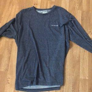 Men's long sleeve Columbia shirt XL